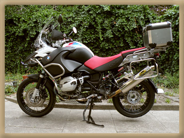 BMW 1200 GS Adventure Umbau