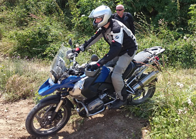BMW enduro Training