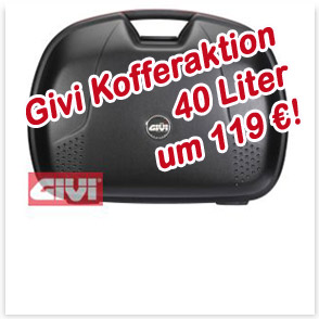 Givi BMW Koffer Aktion